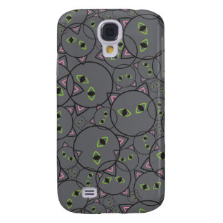 Spooky Cats iPhone3 Speck Samsung Galaxy S4 Case