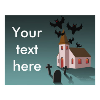 Spooky Church, flyer