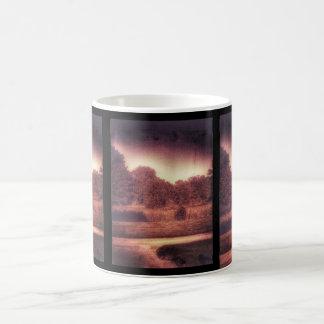 Spooky dark forest mug