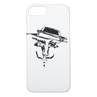 Spooky Dark Mask Cell Phone Cover