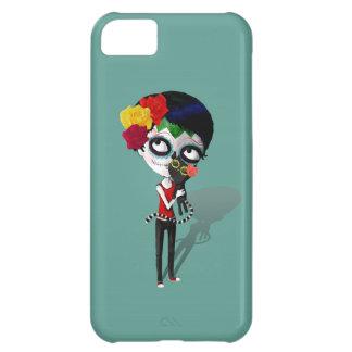 Spooky Dia de Los Muertos Girl iPhone 5C Cases