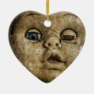 Spooky doll. christmas ornament