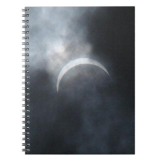 Spooky Eclipse Storm Clouds 2017 Notebook