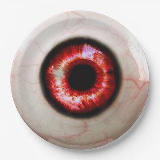 Spooky Eye - Halloween Paper Plate