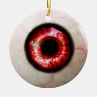 Spooky Eyeball Christmas Ornament
