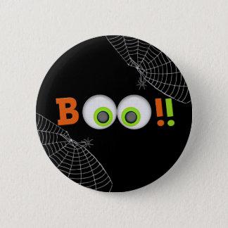 Spooky Eyes Boo Halloween Button