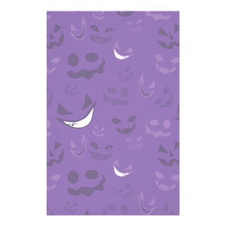 Spooky Faces Personalised Stationery