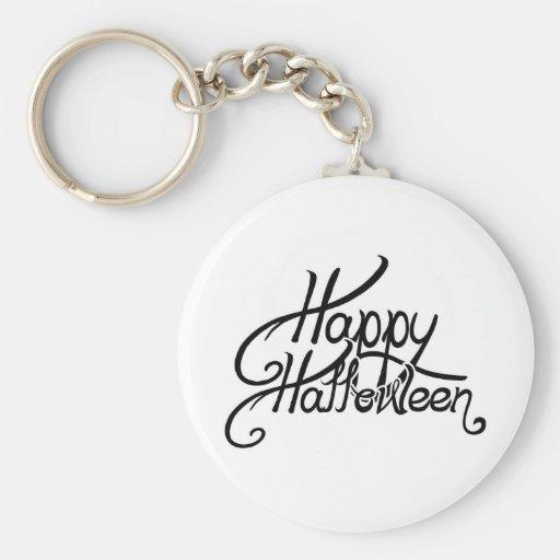 Spooky Festive Happy Halloween Key Chain