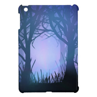 Spooky forest. cover for the iPad mini