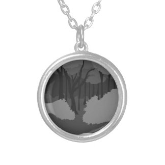 Spooky Forest Pendant