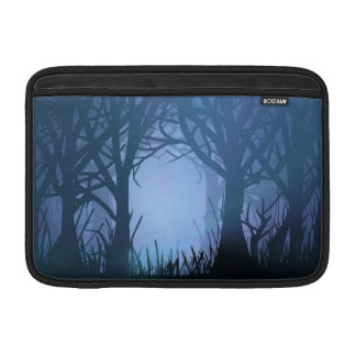 Spooky forest. sleeve for MacBook air