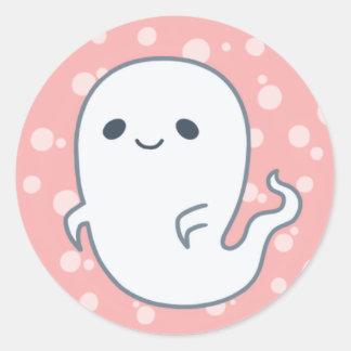 Spooky Ghost by Yokute Round Sticker