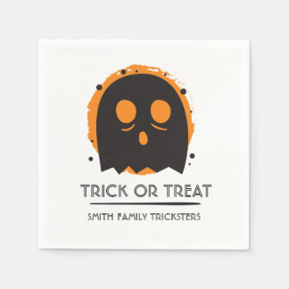 Spooky Ghost. Family Trickster. Paper Serviettes