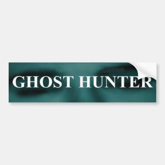 Spooky Ghost Hunter Bumper Sticker