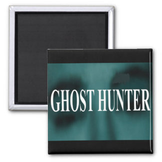 Spooky Ghost Hunter Magnet