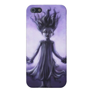Spooky Girl 1 iPhone 5/5S Cases