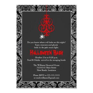 Spooky Halloween Bash Card