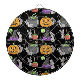 Spooky Halloween Bunnies Dart Boards