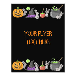 Spooky Halloween Bunnies Flyer
