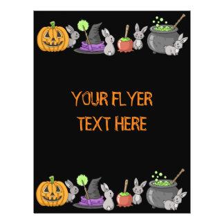 Spooky Halloween Bunnies Flyer