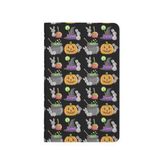 Spooky Halloween Bunnies Journal