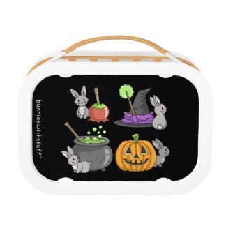 Spooky Halloween Bunnies Lunch Box