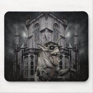 Spooky Halloween demon Mouse Mat