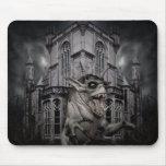 Spooky Halloween demon Mouse Pad