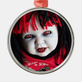 Spooky Halloween Doll Christmas Ornament