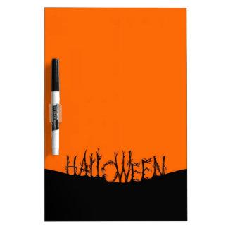 Spooky Halloween Dry Erase Board