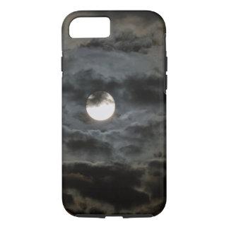Spooky Halloween Full Moon Dark Clouds 2 iPhone 8/7 Case