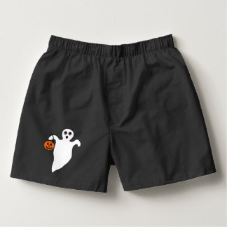 Spooky Halloween Ghost Boxers