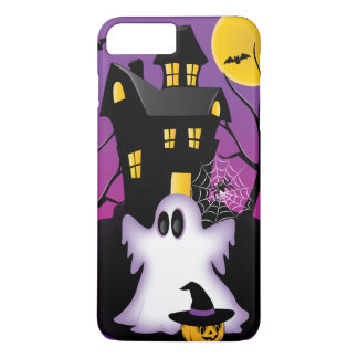 Spooky Halloween Ghost iPhone 7 Plus Case