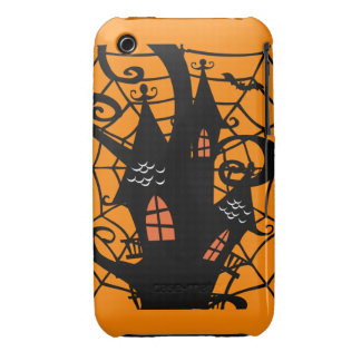 Spooky Halloween Haunted House iPhone 3 Case-Mate Cases