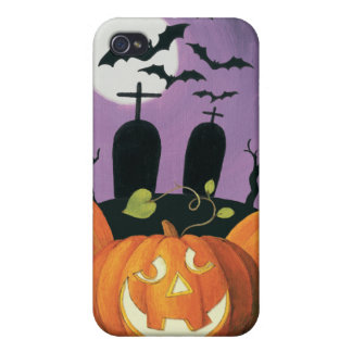 Spooky Halloween Haunted House iPhone 4/4S Covers