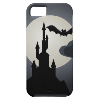 Spooky Halloween Haunted House on Hill iPhone 5 Covers