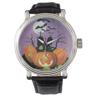 Spooky Halloween Haunted House Watches
