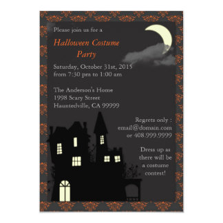 Spooky Halloween House 2 : Invitation
