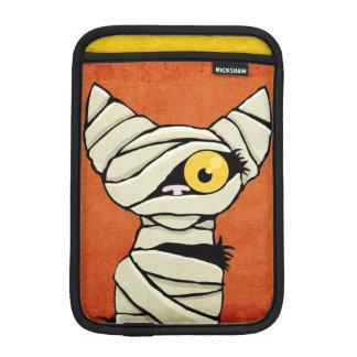 Spooky Halloween Mummy Cat iPad Mini Sleeves