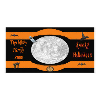 Spooky Halloween Photo Card