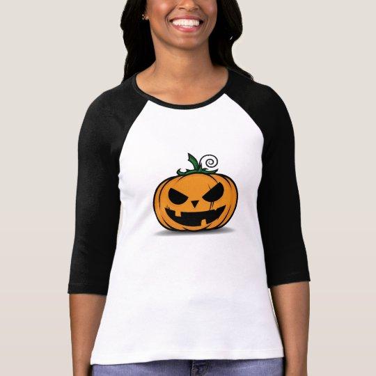Spooky Halloween Pumpkin T-Shirt