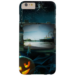 Spooky Halloween Santa Monica Pier Barely There iPhone 6 Plus Case