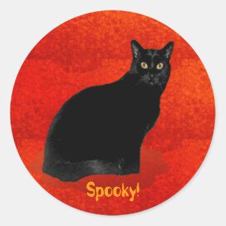 Spooky! Halloween Sticker