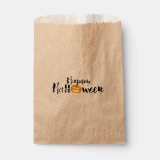 Spooky Happy Halloween Favor Bag
