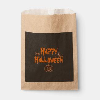 Spooky Happy Halloween Favour Bags
