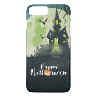 Spooky Haunted House Costume Night Sky Halloween iPhone 7 Plus Case