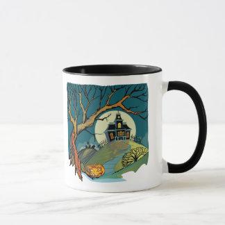 Spooky Haunted House Mug