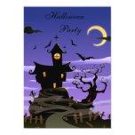 Spooky House Halloween Party 13 Cm X 18 Cm Invitation Card