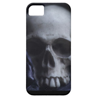 Spooky Human Skull Grim Black White Photography iPhone 5 Cover