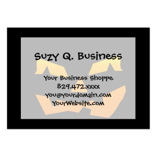 Spooky Jack O Lantern Halloween Pumpkin Face Business Card Template